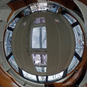 Sailingyacht Moody DS 54: spherical image of the Salon. 360-Grad-Foto vom Salon der Moody 54DS - by Yachtfernsehen.com.