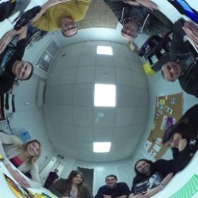 Una part de l'equip del #gamifiMaster #theta360