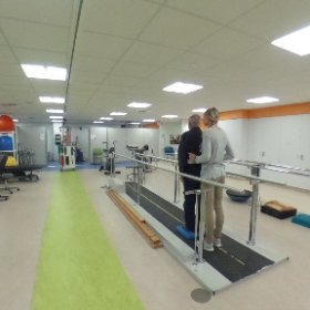 Outpatient #rehabilitation gym number two. #theta360