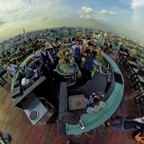 "Octave Lounge and Bar rooftop has become the ""most Popular"" for location and features, with 3 levels and a true open air 360 roof on 48th flr SM hub http://goo.gl/dLfktp BEST HASHTAGS  #OctaveBkk Industry #BkkRooftop #firefly3d"
