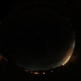 モルディブの満天の星空