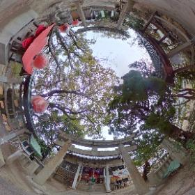 スタジオジブリの「平成狸合戦ぽんぽこ」にも登場した徳島県小松島市「金長神社」の境内。 2020/2/6 #theta360