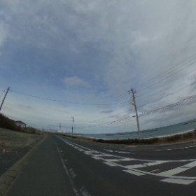 13:30位だけど #イマソラ 阿字ヶ浦海岸 #miku360 #theta360
