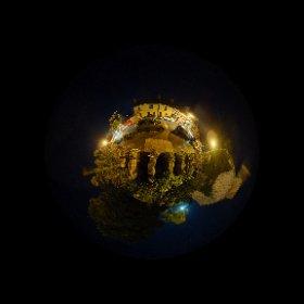 Healy Fest 2017 | Night in Ballycastle | #fullmoon #div360 #ballycastle #firefly3d #theta360