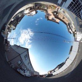 松山市の賃貸アパート、インフィニートBの敷地北東