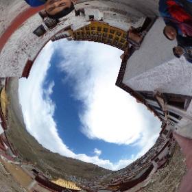 ラサのガンデン寺です! #theta360
