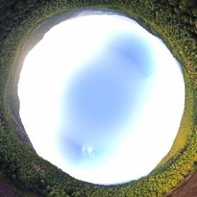 黒の田東湿地(岐阜県) 2019.10.28 晴れ 360°パノラマ #theta360
