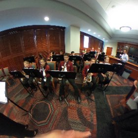 Heritage Band students at PNC Arena for the 2016 Superintendent's Breakfast. @WCPSS #theta360