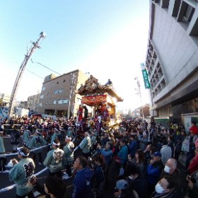 2018秩父夜祭宵宮❸(埼玉県秩父市) #theta360