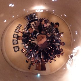 party is over. great thx to all guests!  INFOBAHN content night clue in da house! #theta360
