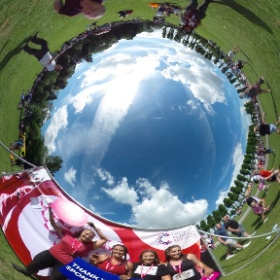Well done girls! #theta360uk