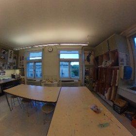 Art Room #marymount360 #theta360