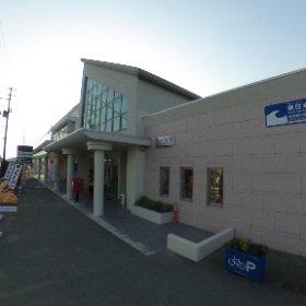旧野蒜駅 #theta360