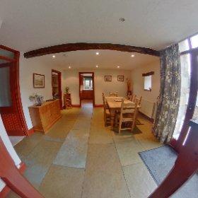 'Parkside' at Riverside Cottages. High Bentham. #theta360 #theta360uk