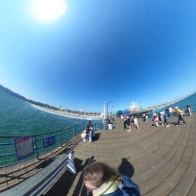 Santa Monica pier, California. Photo by Liisi Mölder, www.liisimolder.com