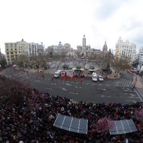 The final main square mascaleta #falles2016  #theta360 #theta360uk