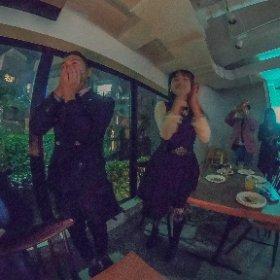Tomohiro's Birthday Party, Tokyo トモの30歳のバースデーパーティ #theta360 #theta360