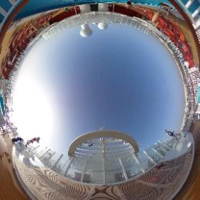 Goede morgen vanaf de #AIDAnova! ☀️ 360 graden foto's in de maak! #Lanzarote