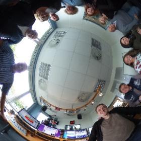 Das Team von Radio Hochstift im Studio #theta360 #theta360de