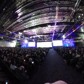 """8000 strong at #edu17! Looking forward to """"the next 20 years in education and technology"""" #theta360"""