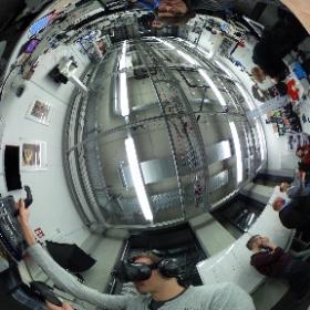 Vive VR und ne Delegation von MAN bei uns im Lab 🍀👍