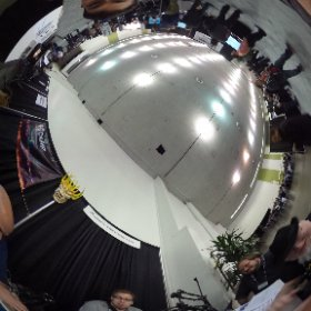 VRcasting from @svvr2015 VR expo with @reverendkjr @LHVRpodcast ,Zero Transform and @bullardo from @podvrcast