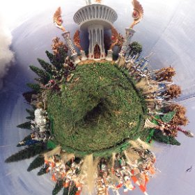 Tiny Warhammer World. This 360 image can be viewed in VR goggles. more info at Www.ThisIsMeInVR.com  #theta360