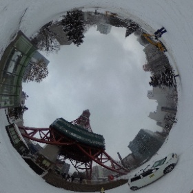 さっぽろテレビ塔周辺 #まるちゃん写真集  #まるちゃん北海道旅行