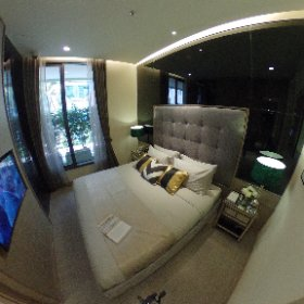 The Esse Asoke 1 Bedroom 37sq.m (Master Bedroom 360° View)