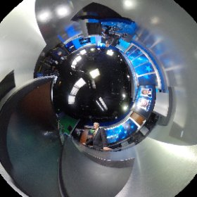 360 image of @ConanNBCLA covering #supertuesday from the @NBCLA studio. #theta360