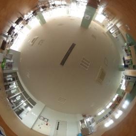 弘前医療福祉大学 学生食堂 1 #theta360