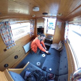 On board. #theta360