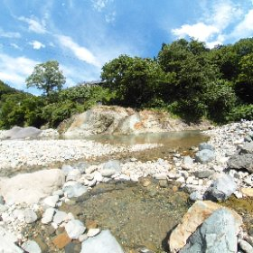 切明温泉 川原の湯