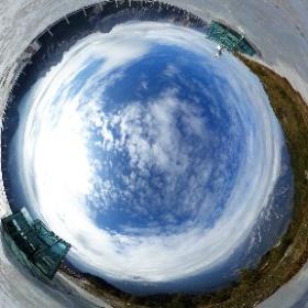 Museo nelle Nuvole o Messner Mountain Museum Dolomites - Monte Rite 21181 m #theta360 #theta360it