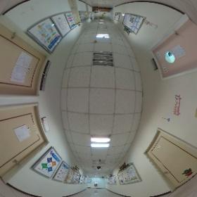 中華科技大學企業管理系 9樓走廊