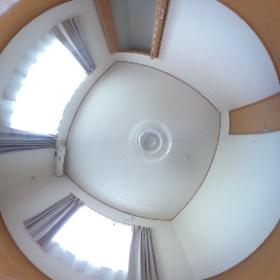 カーサオカジマB号室2階洋室 #theta360
