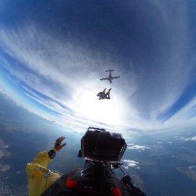 Tandem skydive #skydive #tandem #summer #fun #speed #adrenalin