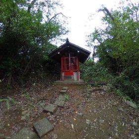 駒岡厳島神社。 #theta360