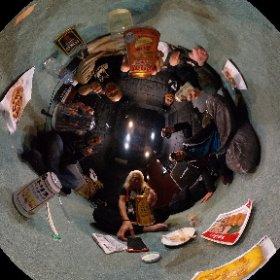 ファンキーはんと大村はんレコーディング終了!!ファンキースタジオで音源聴きながら打ち上げ〜お隣の二井原はんもライブ終わって合流飲み〜