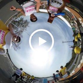 #東北風土2016 マラソン ビール君たちと乾杯! 360°動画 #GenkiTohoku まとめ画像はこちら http://i.ktri.ps/genkitohoku #theta360