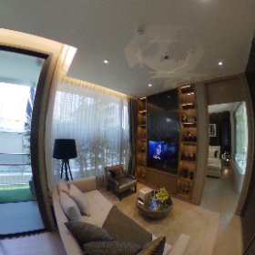 The Esse Asoke 2 Bedroom 75.5sq.m (Living Room 360° View)