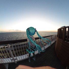 君と二人眺めた あの空は今も胸に #miku360 #theta360