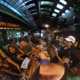 Happy Station 11 alley bar and Eats in Suk Soi 11/2 Bangkok, late night bar, SM hub https://goo.gl/DQ3E39  BEST HASHTAGS  #HappyStation11Bkk #butterfly3d