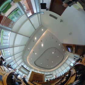 """Masashi Crete-Nishihata - """"The royal road to our personal data is through our devices, applications, and networks."""" #WhosGotYourBackHK #HKU #theta360"""