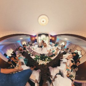 Clayton & Veverly's Wedding #theta360