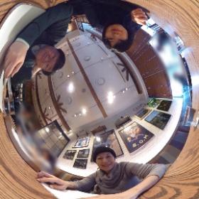 1/31のソニーイメージングギャラリーでのトークショーの打ち合わせ。鈴木知子さんと、今後、お手伝いいただく山田淳子さんと。