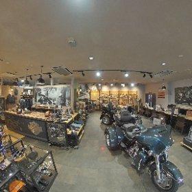 Harley-Davidson岩手店内紹介写真01 #theta360