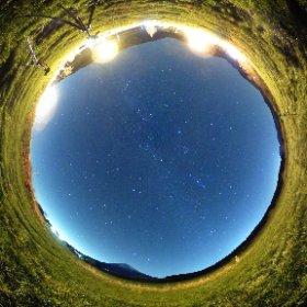 THETA Sで星空を撮影2