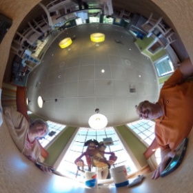 Getting ready to take pictures at WDW with my new camera #theta360