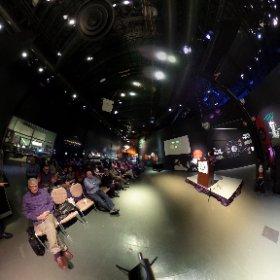 Conférence de Lisa Dang sur la vie extraterrestre au Cosmodôme de Laval #theta360 #theta360fr